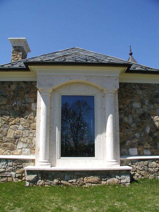 Window Surround with Columns