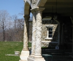 Tuscan Columns with Carved Details