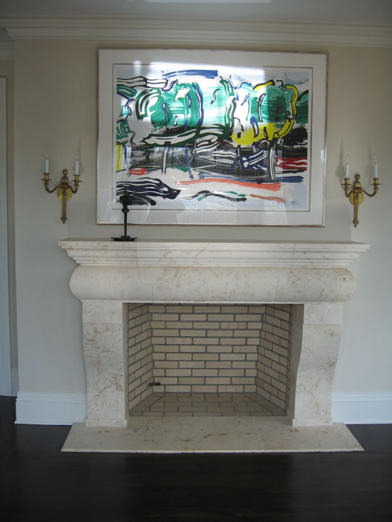 Fireplace with Classic Design