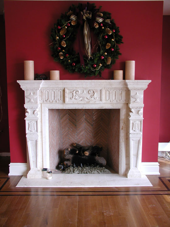 Federal Style Fireplace