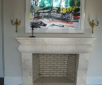 Fireplace with Classic-Design