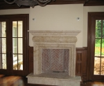 Den Fireplace