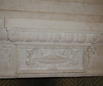 Fireplace with Carving Detail