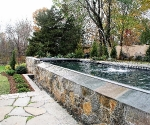 Stone Wall - Pool