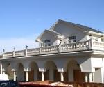 Balcony & Garage Area