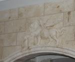 Kitchen Hood Lion Detail