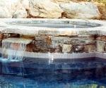 Stone Jacuzzi