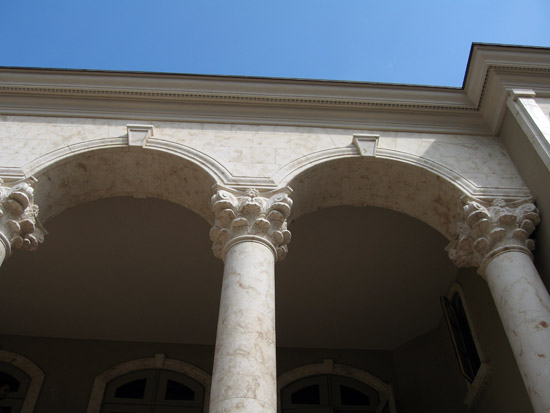 Exterior Corinthian Column