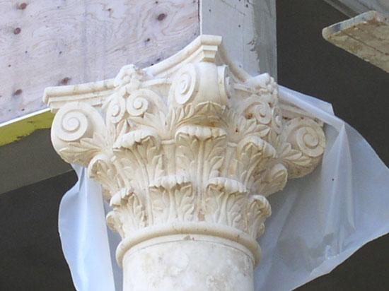 Corinthian Column - Close Up