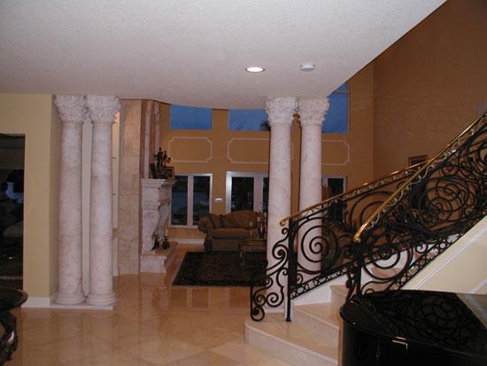 Corinthian Column at Interior