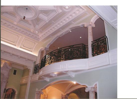 Ionic Columns at Grand Balcony