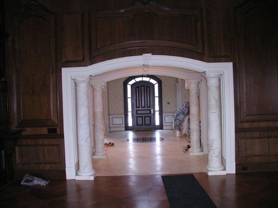 Tuscan Hall Columns