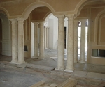 Tuscan Columns at Interior Grand Entry