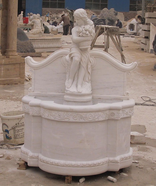Garden Room Marble Fountain