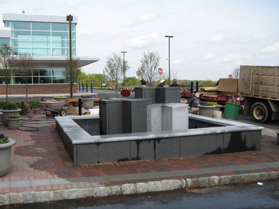 Granite Hospital Fountain