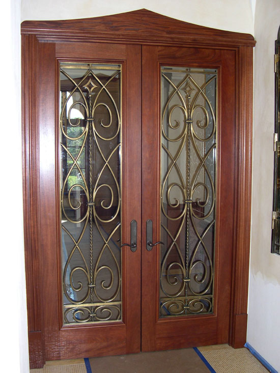 Bronze Entry Door Inserts