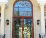 Door Entry Iron Grills