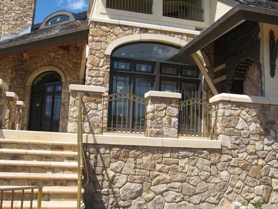 Bronze Stair Rail
