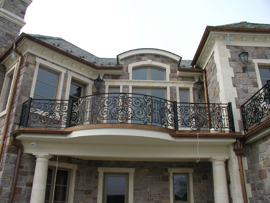 Iron Railing at Rear