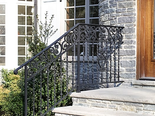 Iron Entry Stair