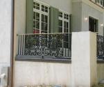 Patio Rail - Side View