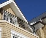 Simple Iron Balcony Design