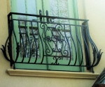 Iron Balcony Rail
