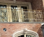 Bronze Upper Deck Rail