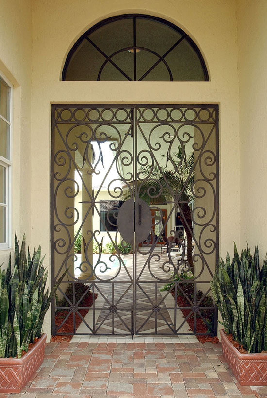 Interior Courtyard Gate