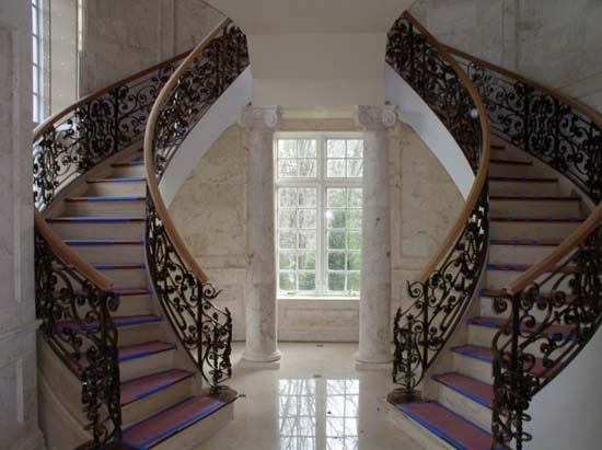 Grand Hall Double Helix Stairs