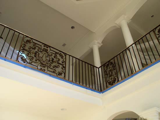 Iron Balcony with Bronze