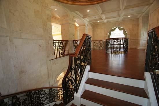 Iron Rail at Upper Foyer