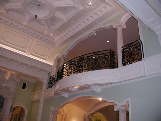 Iron Rail in Grand Hall