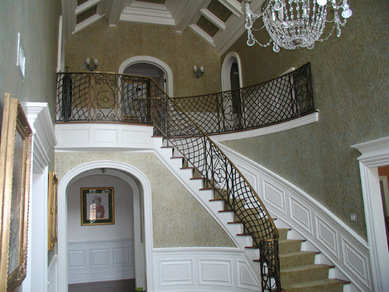 Bronze Stair with Special Finish