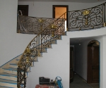 Stair with Bronze Accent