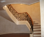 Stair with Wax Finish