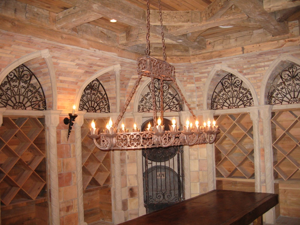 Wine Cellar Chandelier