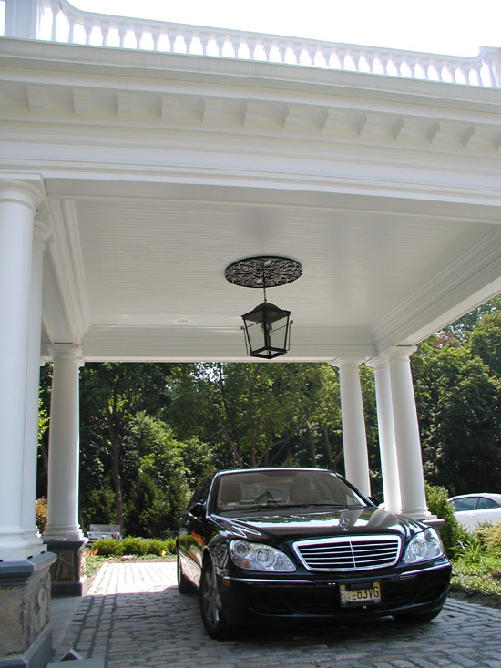 Porte Cochere Ceiling Mount