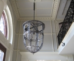Brushed Iron Chandelier