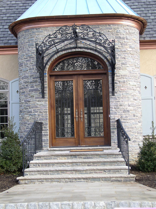 Iron Entry Canopy