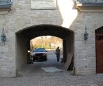 Bronze Porte Cochere Bumper Guards