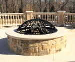 Iron Fire Pit Cover